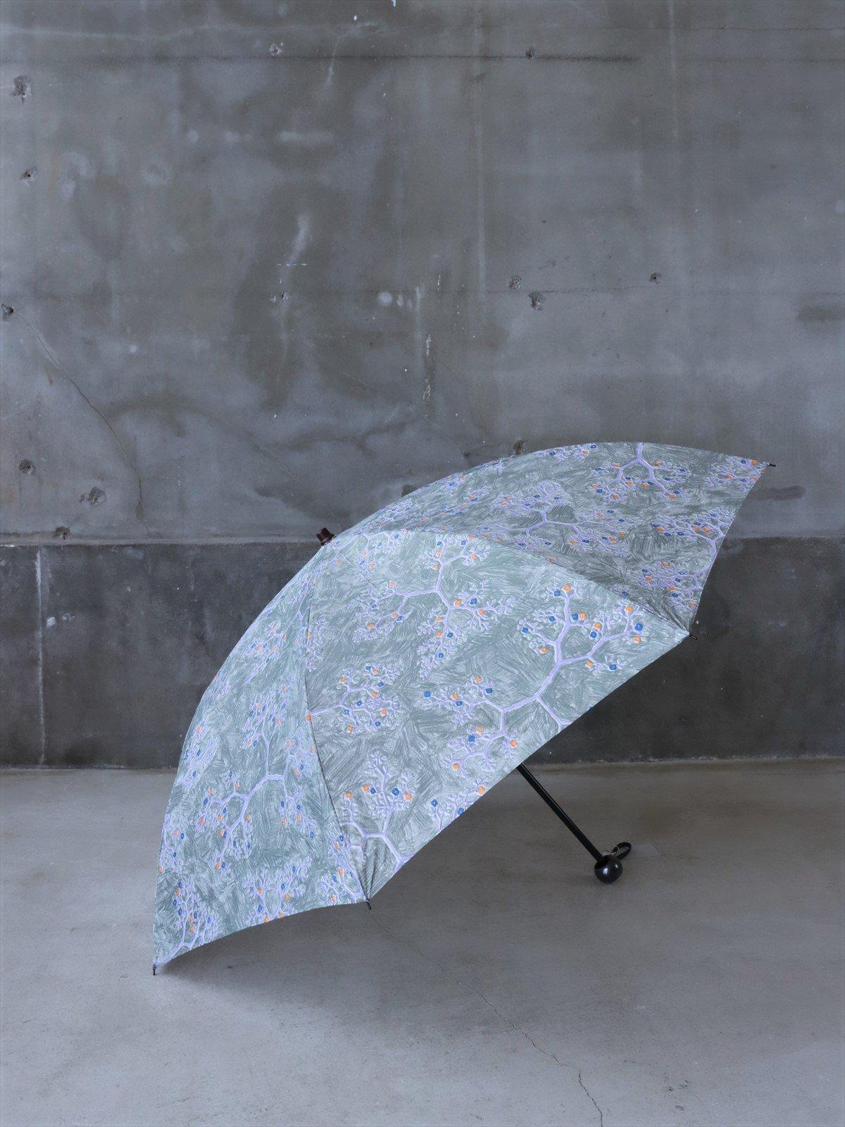 イイダ傘店 雨傘 折りたたみ ヤブカラシ