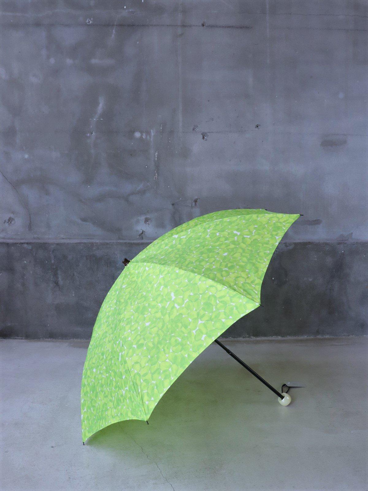 イイダ傘店 雨傘 折りたたみ そら豆