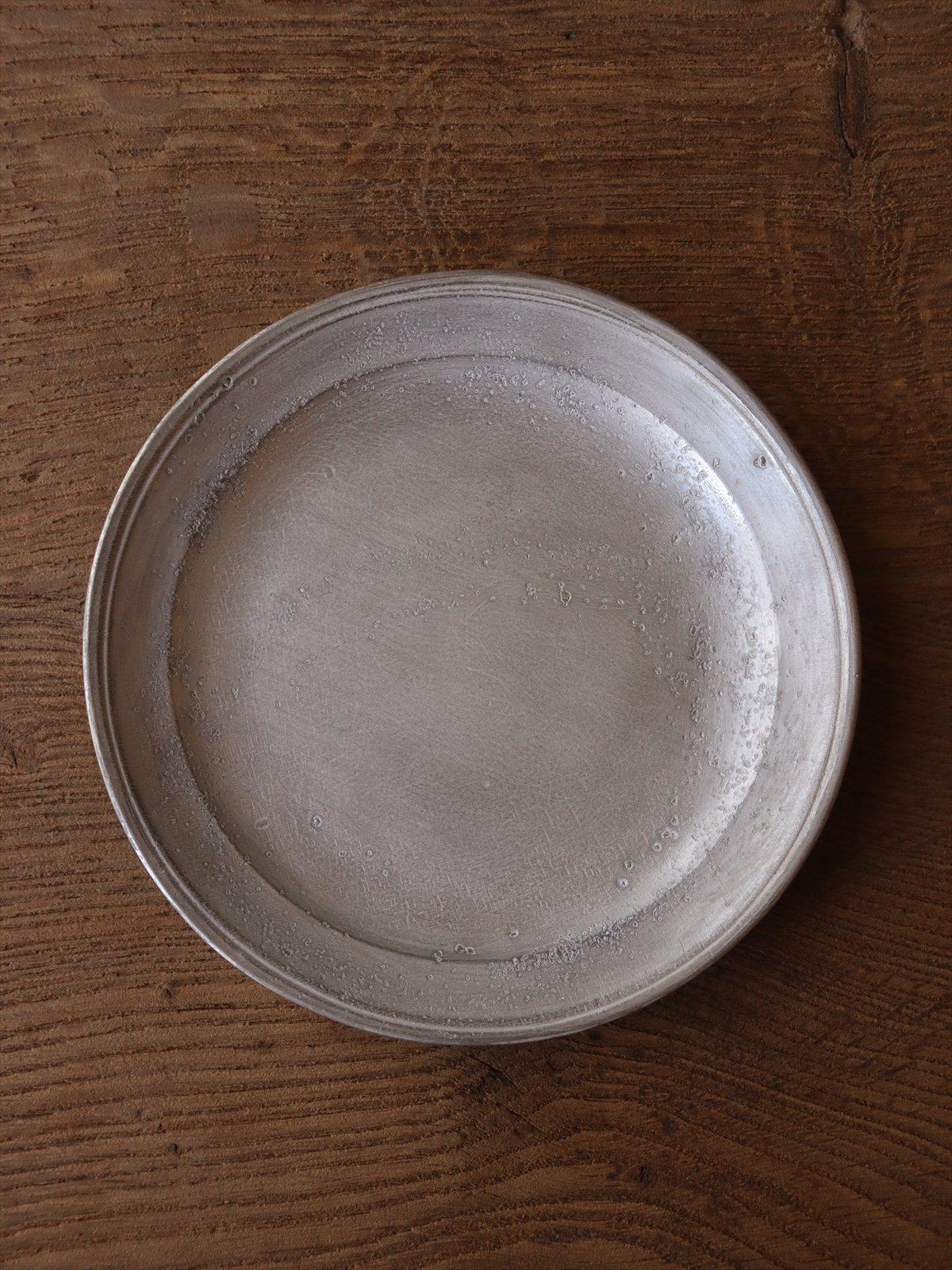 亀田大介  銀磁6寸リム皿