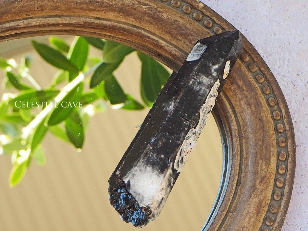 モリオン原石ポイント