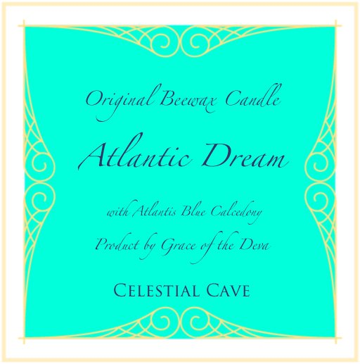 6th Anniversary 記念企画 蜜蝋キャンドル  Atlantic Dream