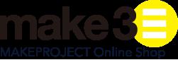 make3 メイクプロジェクトのオンラインショップ