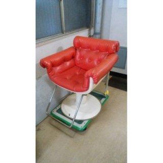 BD-528-16 タカラ製 レトロ椅子 シート張替込  在庫数 5 (OK)