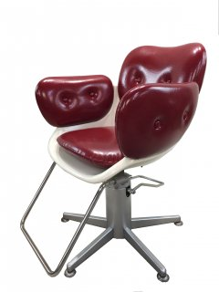 BD-559-16 タカラ製 レトロ椅子 シート張替込   1台 (HB)