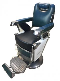 RB-057-16 タカラベルモント製 理容椅子 57号{シート張替え込み} 在庫1 (HB