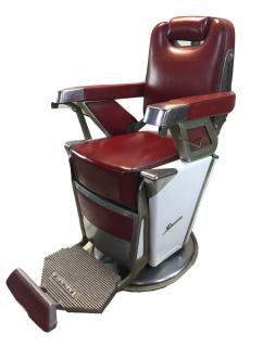 RB-061-16 タカラベルモント製昇降 理容椅子 57号