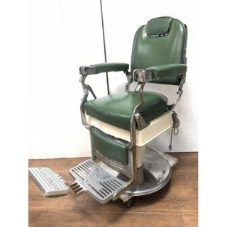 EC-203-16 クラサワ製 理容椅子 シート張替込 (HB)
