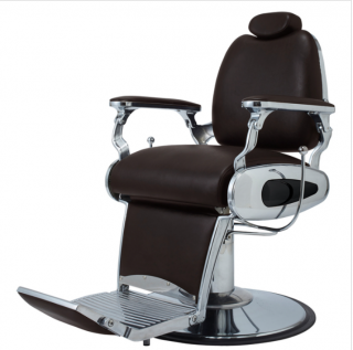 EC-233-04 理容椅子BROOKLYN(ブルックリン) ブラウン(HB)