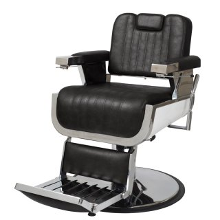 EC-234-04 理容椅子OLDEST-S(オールデスト エス) ブラック(HB)