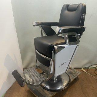RB-064-16 タカラベルモント製 理容椅子 57号{シート張替え込み} (HB