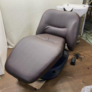 BS-808-06  電動フラットシャンプー椅子 シエスタ+ワイドボウル自立型  (HB)