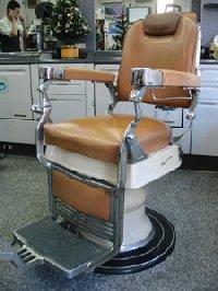 RB-006-16 クラサワ製 理容椅子  在庫数 1(HB)