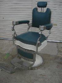RB-023-16 レトロ理容椅子 ishida製 (HB)