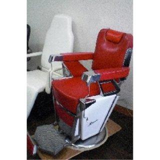 RB-024-10 再生品 タカラベルモント製 理容椅子 在庫数 1(YN)