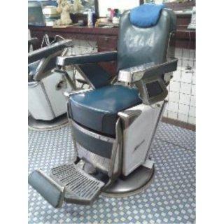 RB-028-16 タカラベルモント製 理容椅子 57号{シート張替え込み} 在庫1 (HB)