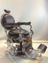 RB-038 再生品 大正時代のバーバー椅子(HB)