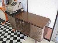 RSH-024-16  レトロレジスター&レトロレコードテーブルセット 在庫数 1(HB)