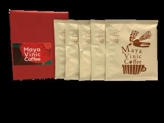 【専用箱入り】◆メキシコ マヤビニック◆少量直火焙煎による本格ドリップバッグコーヒー 10g×5杯分