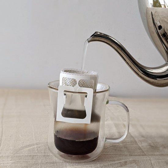 ★無農薬コーヒー★ 最響のカフェインレスコーヒー(デカフェ) メキシコ マヤビニック ドリップバッグ 10g×5杯分