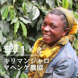 ★無農薬コーヒー生豆★ キリマンジャロ マヘンゲ・アムコス生産者組合(タンザニア) 1kg