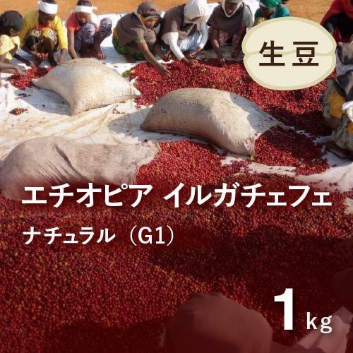 <img class='new_mark_img1' src='https://img.shop-pro.jp/img/new/icons14.gif' style='border:none;display:inline;margin:0px;padding:0px;width:auto;' />★無農薬コーヒー生豆★ エチオピア イルガチェフェ ナチュラルG1 (アリーチャ WS)1kg