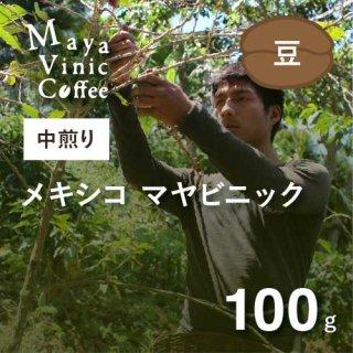 ★フェアトレード&無農薬コーヒー★ メキシコ マヤビニック 中煎り 100g(豆のまま)