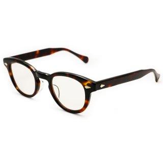 TART OPTICAL ARNEL(タート オプティカル アーネル) JD-55 44□24サイズ col.004 Demi amber 1955年にジェームズディーンが愛用したメガネを忠実に復刻