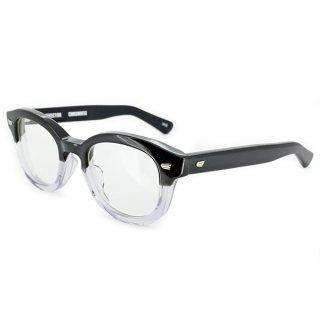 EFFECTOR (エフェクター) 眼鏡(メガネ)フレーム CHROMATIC(クロマティック) col.BK2(ブラック/クリア)