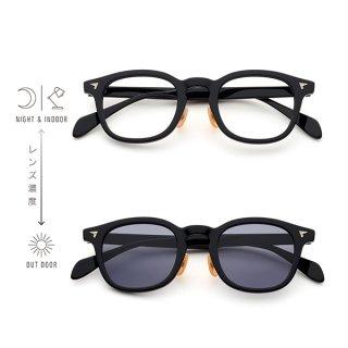 BJ Classic Collection (ビージェイクラシック) SUNSHIFT(サンシフト)S-P551 col.1 (ブラック/クリア→グレー)