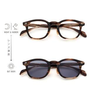 BJ Classic Collection (ビージェイクラシック) SUNSHIFT(サンシフト)S-P551 col.30 (クロササ/クリア→グレー)
