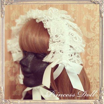 4048-1-2 Dollyヘッドドレス(flower)(Snow White)