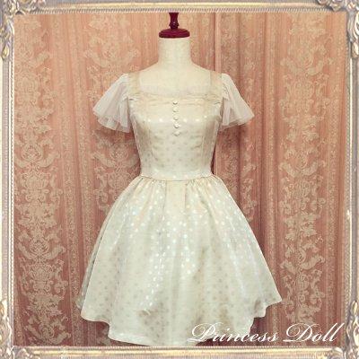 1077-2 Lady Dress(champagne Gold)