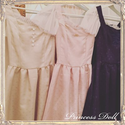 1077-1 Lady Dress(Pink)