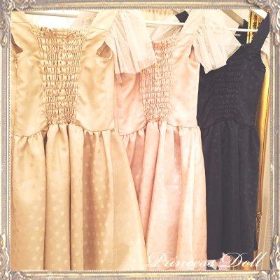 1077-3 Lady Dress(Navy)