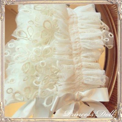 4048-1-3 Dollyヘッドドレス(flower)(White)