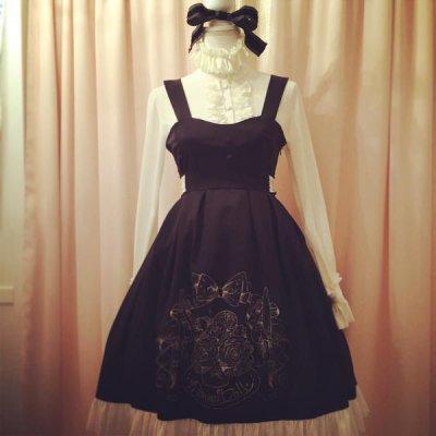 1071-3 10th Dress(Black×Whiteチュール)(ポストカード付き)
