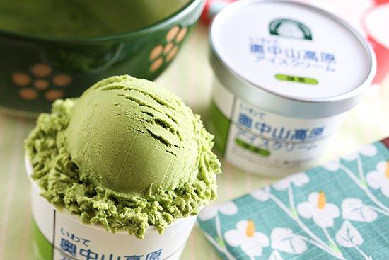 いわて奥中山高原 アイスクリーム 抹茶 【 岩手県 】