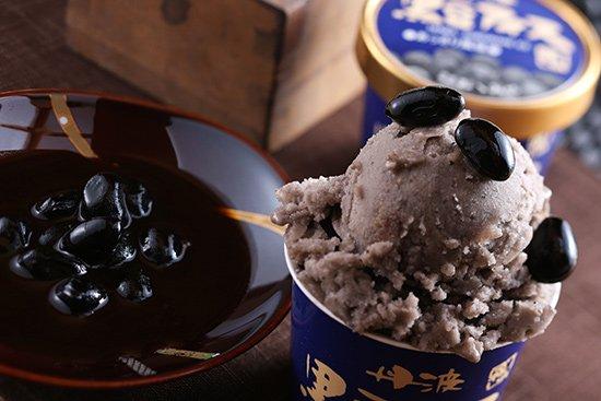 丹波篠山食品 黒豆アイス あっさり 【 兵庫県 】