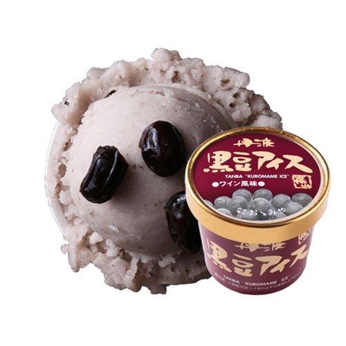 丹波篠山食品 黒豆アイス ワイン 風味 【 兵庫県 】【画像2】