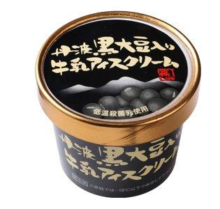 丹波篠山食品 丹波黒豆入り 牛乳アイスクリーム 【 兵庫県 】【画像3】