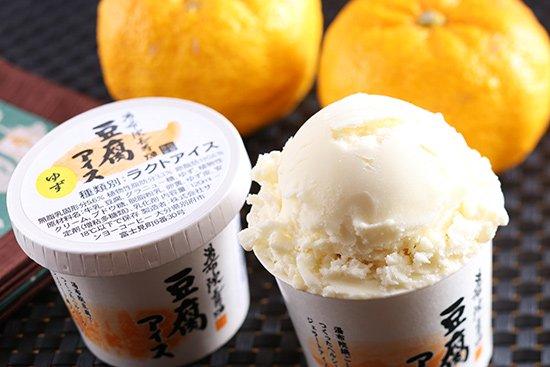湯布院長寿畑 豆腐アイス ゆず 【 大分県 】