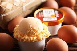 色々なアイスクリーム (エトセトラ) 会津地鶏 卵アイス 【 福島県 】