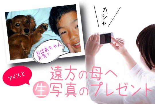 [母の日」のWEB通販でアナログとデジタルの融合!【画像3】