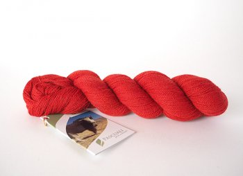 20 - Coral red【 Yak Lace 】