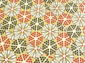 花てまり 【赤】  A3×5枚セット