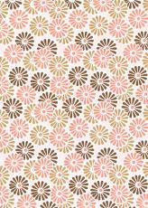 004 菊 ピンク 76cm巾