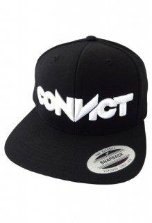 CONVICT ベースボールキャップ BLACK