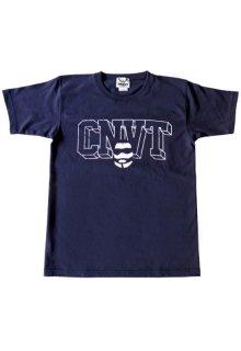 CONVICT フットボールTシャツ NAVY