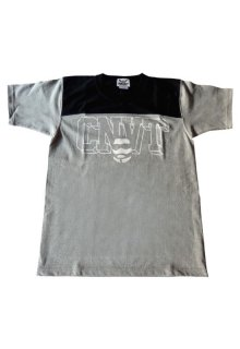 CONVICT フットボールTシャツ MIX GRAY/BLACK/WHITE