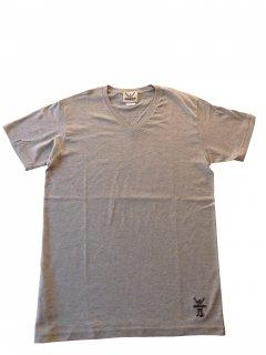 CONVICT VネックTシャツ GRAY